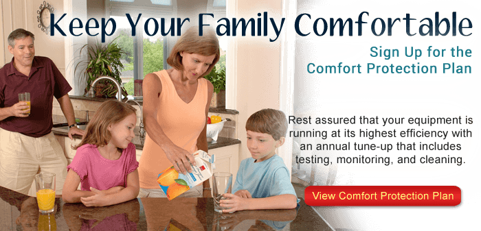 Sign up for our Air Conditioner maintenace plan in Bradenton FL to ensure your home stays comfortable.